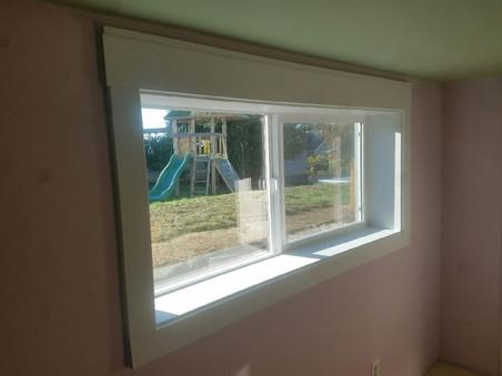 West Seattle egress window slider