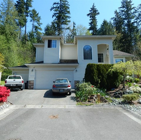 House exterior before