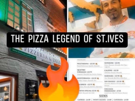 The Pizza legend of St.Ives - fresh Italian sourdough pizza straight to your door! 🚚