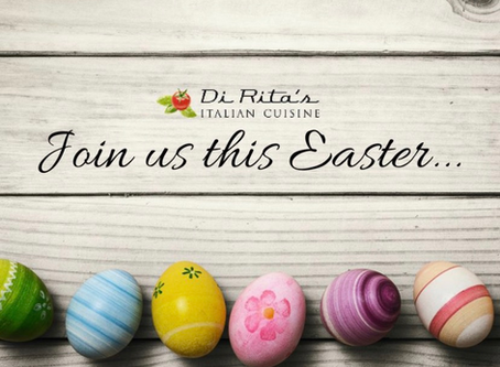 Di Rita's Deli & Pizzeria - Join us in a different way this Easter - we won't let you down