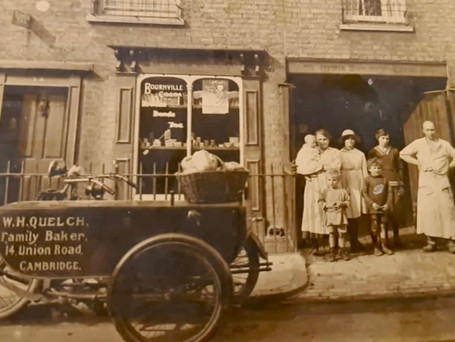 The St.Ives Bakery that opened in 2019 but has been part of our family since 1911