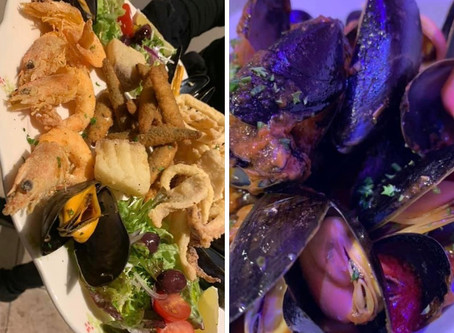 Seafood Platter & Wine for 2