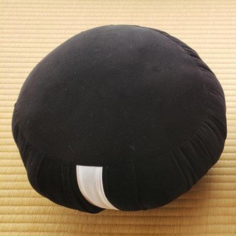 Velvet Zafu Black Medium