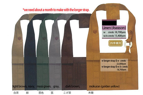 Rakusu Linen with Soto Crests