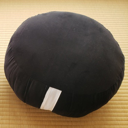 Velvet Zafu Black Large
