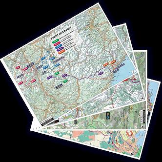 Rallye Monte Carlo Historique 2021 Livre de Cartes / Mapbooks