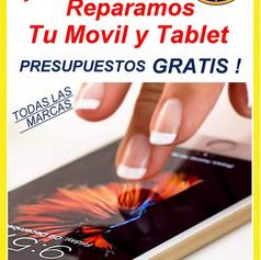 Reparación de móviles y tablet
