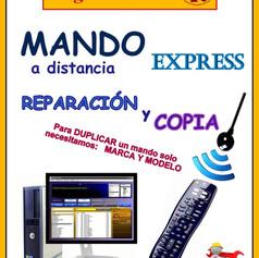 Reparación express mandos a distancia