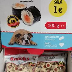 Snacks perros y gatos
