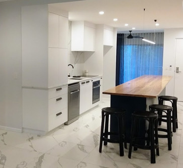 Apartment kitchen refurbishment