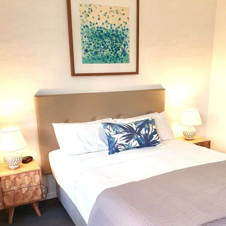 Resort bedroom,