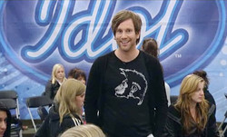 Peter Jihde on Swedish Idol