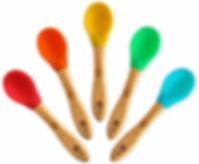 Natural Bamboo Baby Spoons by Bambusi.jp