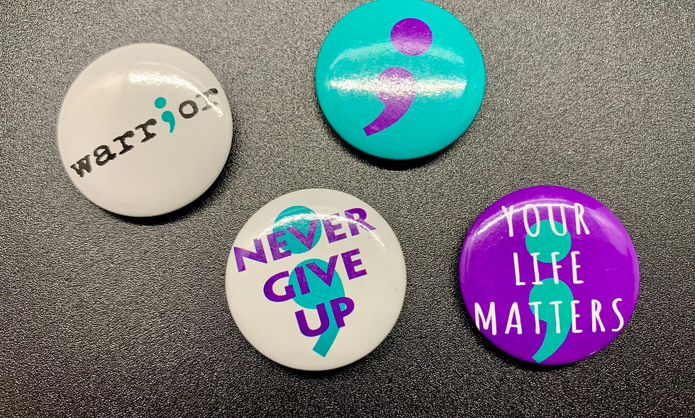 Encouragement Button 4 - Pack