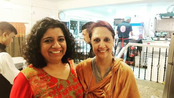 Asma Khan's 50th birthday at Manzilat's