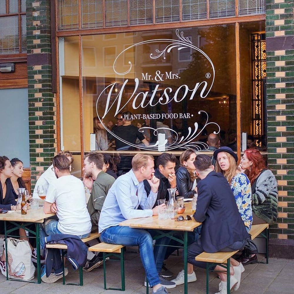 Mr. & Mrs. Watson Amsterdam