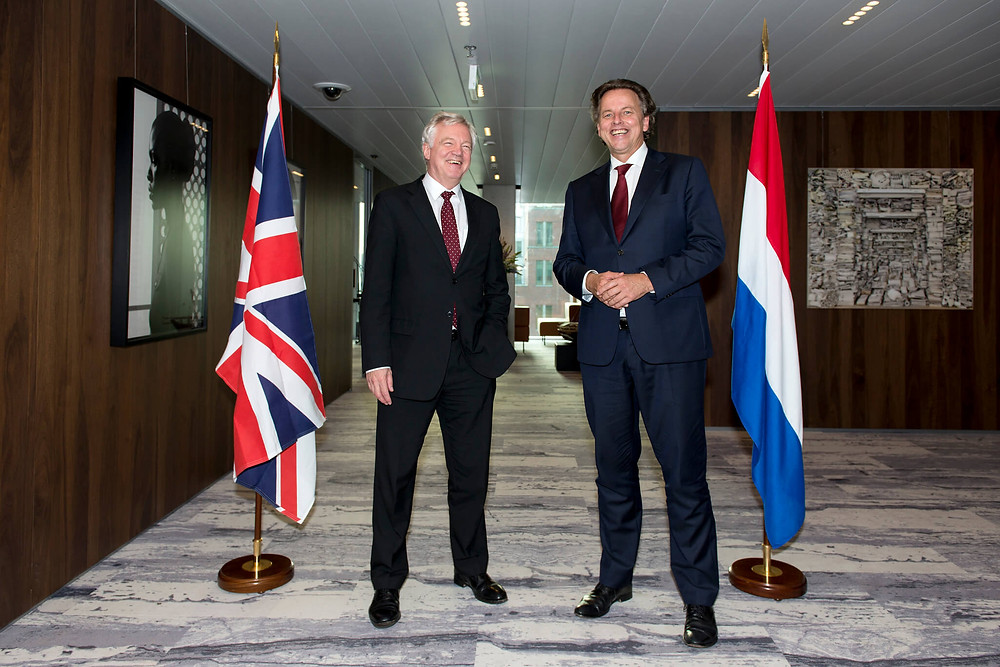 Dutch Minister of Foreign Affairs welcomes UK Minister for Brexit