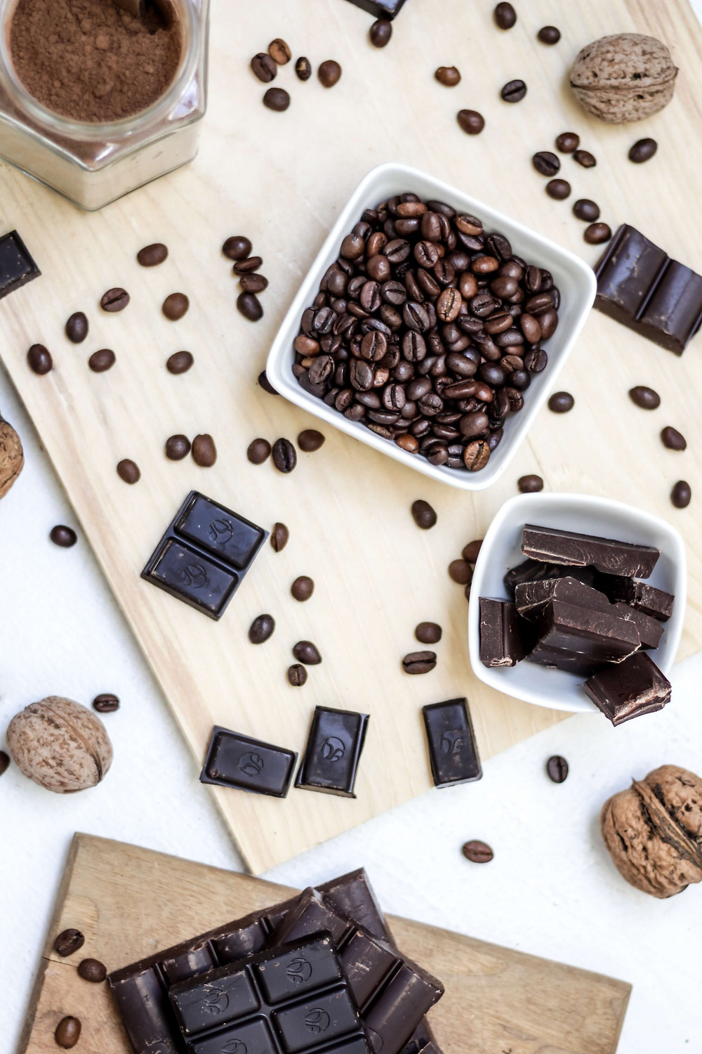 Fairtrade Coffee Beans and Chocolate
