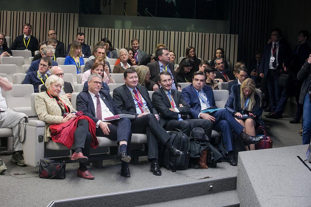 A meeting of the European Council