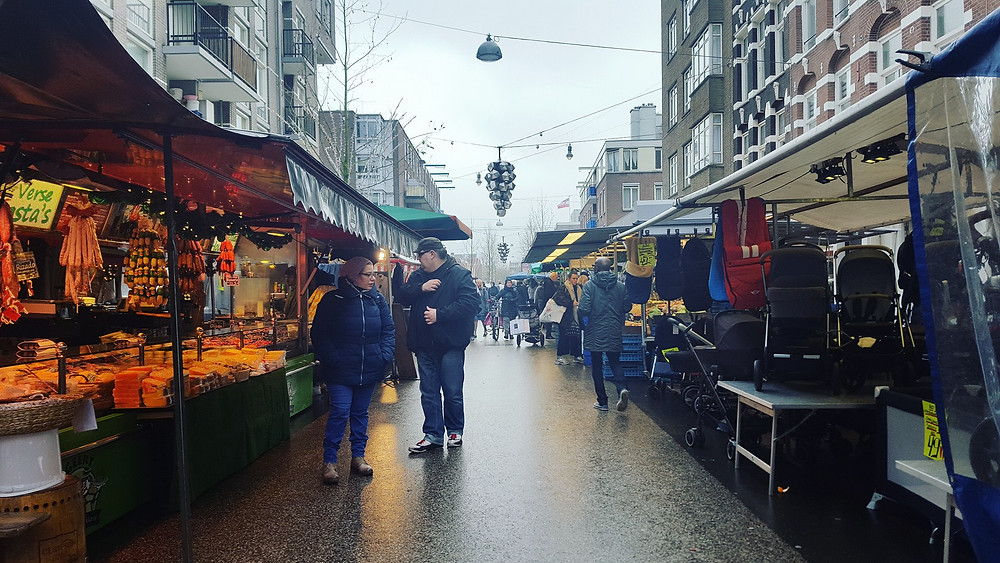Amsterdam's Ten Cate market