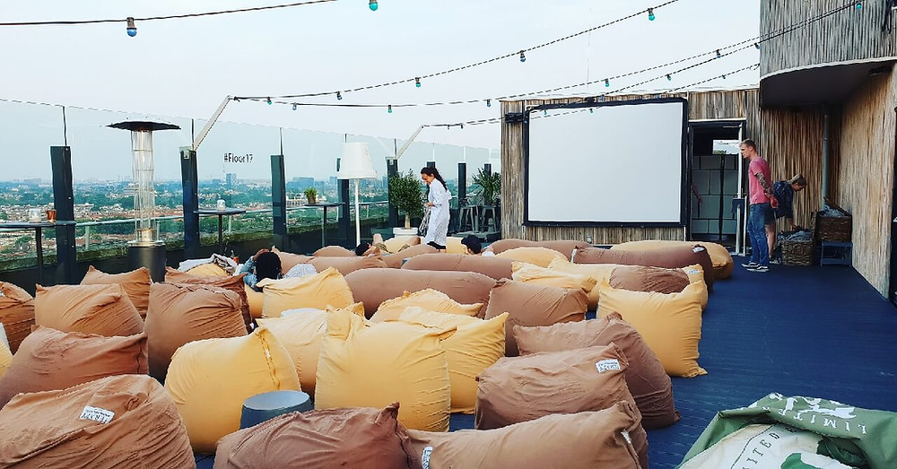 Rooftop Movie Night at Floor 17