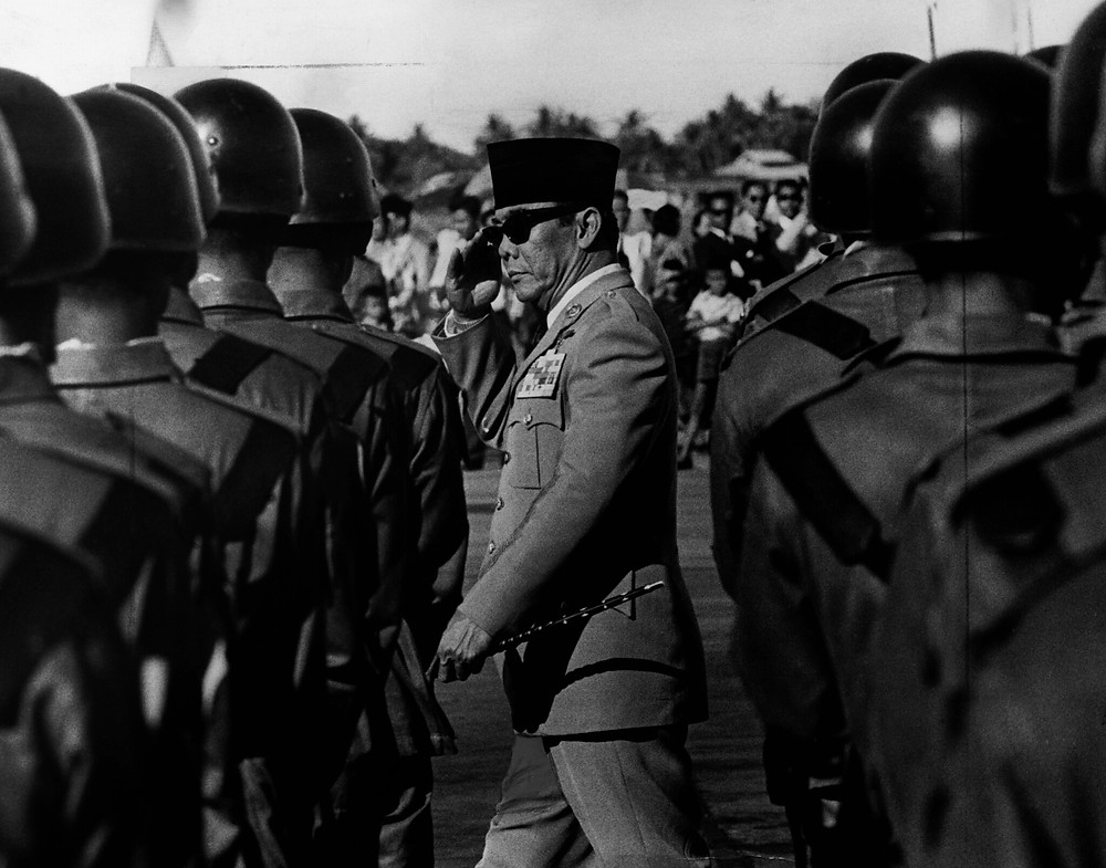 Achmad Sukarno - First President of Indonesia after independence