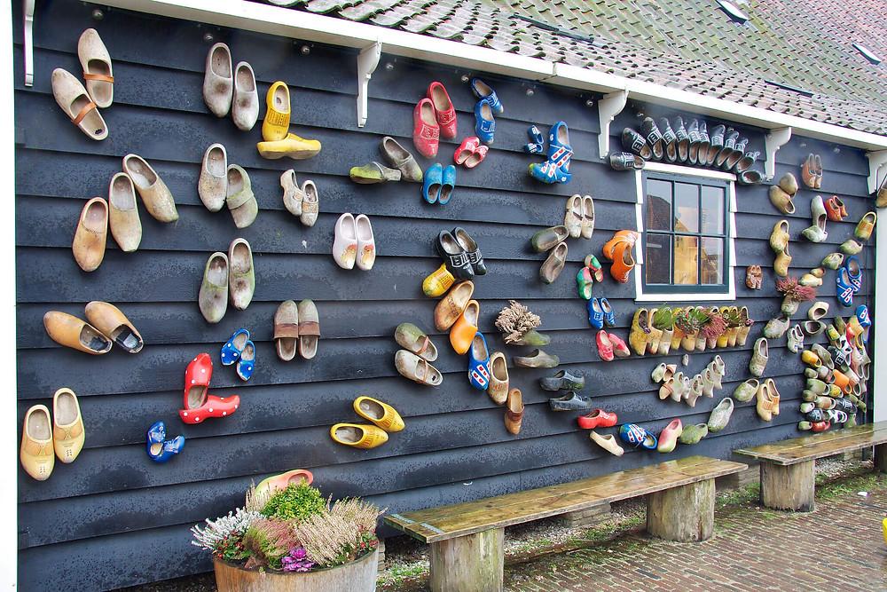 Clogs (wooden shoes) in Zaanse Schans