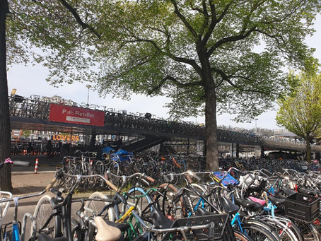Amsterdam's New Underground Bicycle Parking Spaces