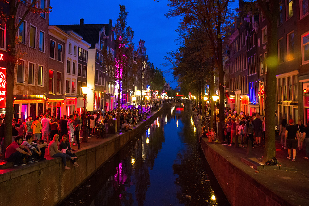 Amsterdam Red Light District Area