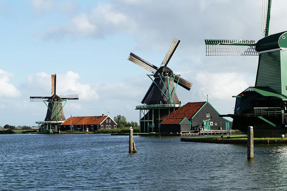 Zaanse Schans - Windmills - Beejonson