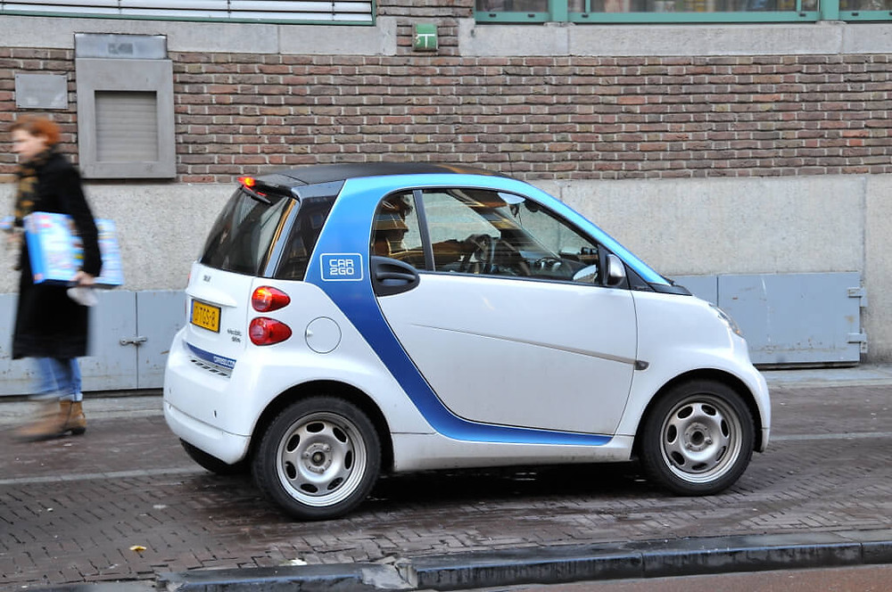 How Green is Amsterdam - Car2Go Amsterdam