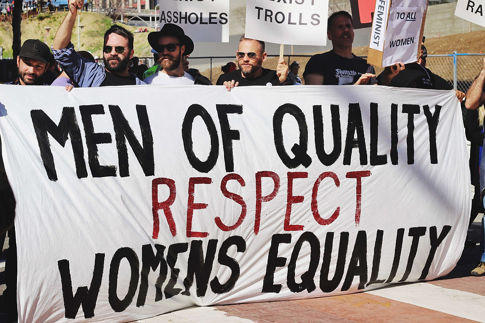 Men who support women's equality