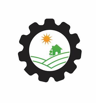 vector-gear-logo-green-tree-leaf-ecology