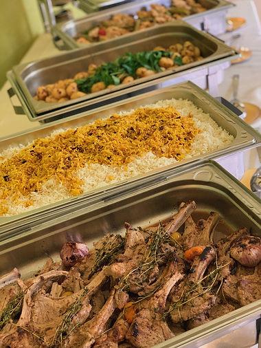 Hochzeitsbuffet catering sheker
