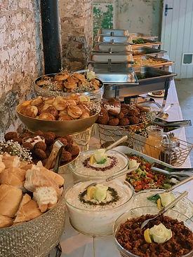 Hochzeitscatering Hochzeitsbuffet Sheker