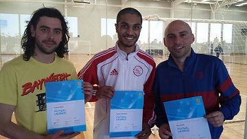 Futsal coaches certificate coach licence