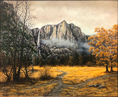 Fall at Yosemite Falls