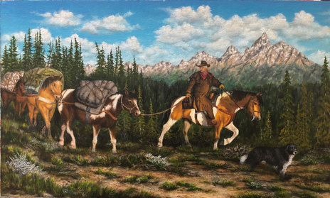 Packing the Tetons