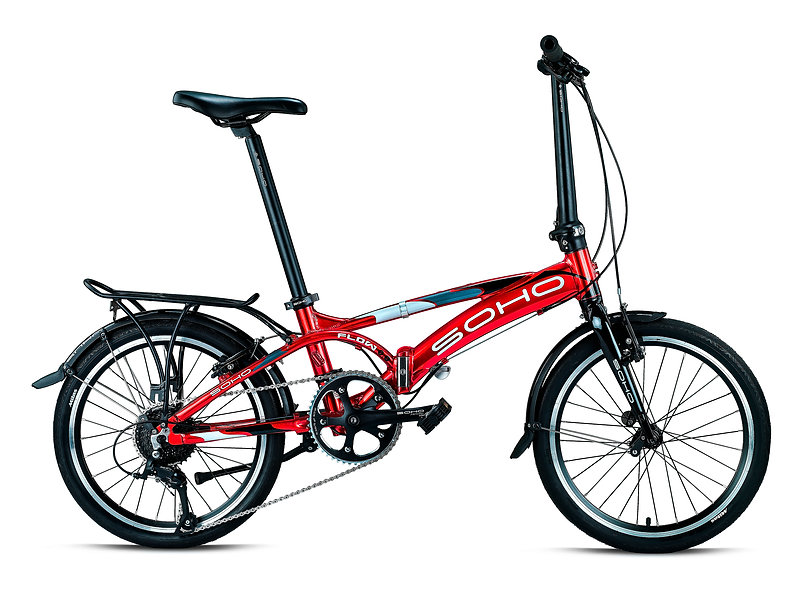 SOHO Flow 9.1 Foldable Bike