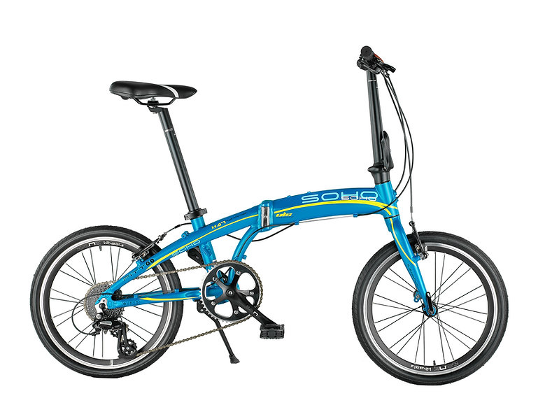 SOHO Fitt 8.1 Foldable Bike