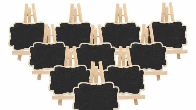 Wood Display Easels