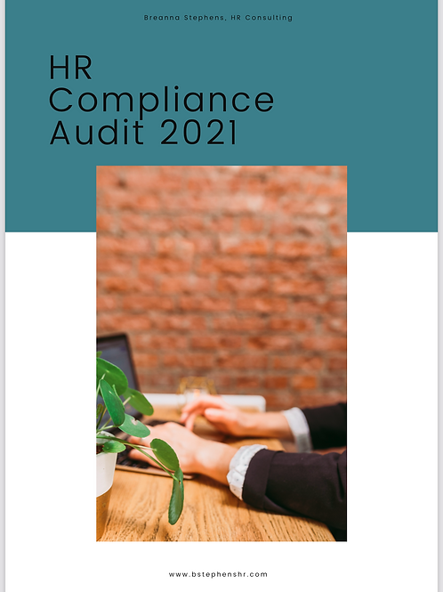 HR Compliance Audit 2021