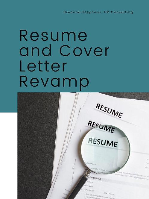 Resume & Cover Letter Revamp +More!