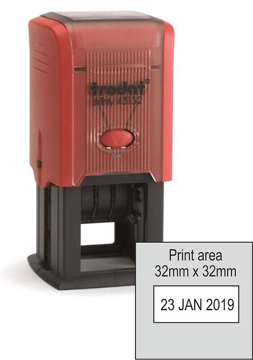 Trodat Printy Dater 43132 - 32mm x 32mm