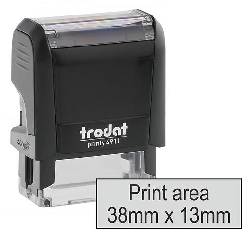 Trodat Printy 4911 - 38mm x 13mm