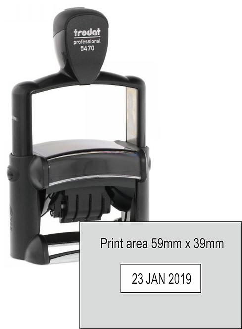 Trodat Professional Dater 5470 - 59mm x 39mm