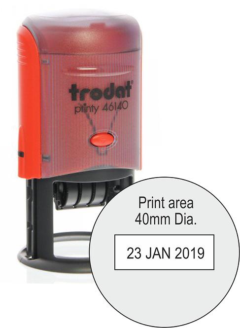 Trodat Printy Dater 46140 - 40mm Dia.