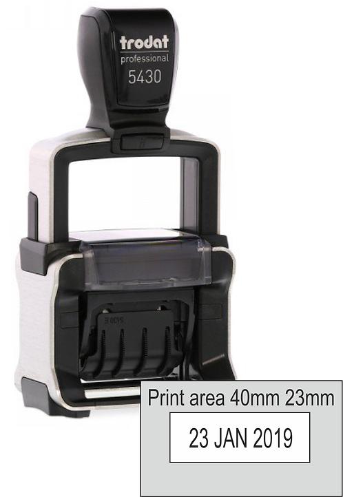 Trodat Professional Dater 5430 - 40mm x 23mm