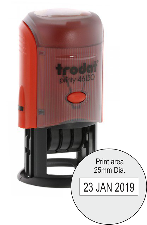 Trodat Printy Dater 46125 - 25mm Dia.