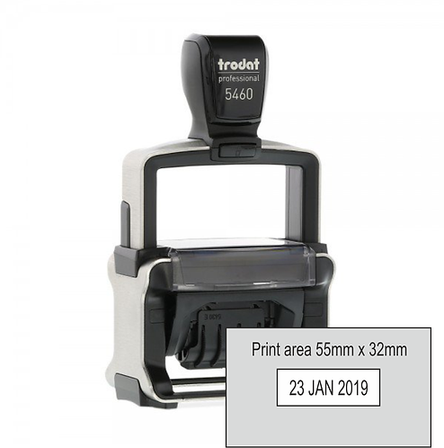 Trodat Professional Dater 5460 - 55mm x 32mm